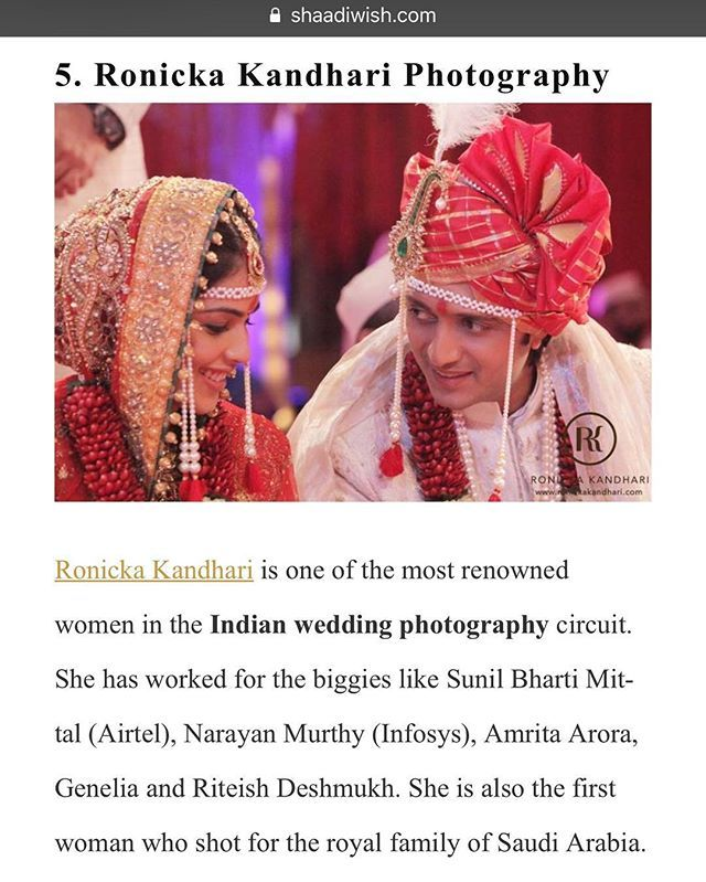 THANK YOU FOR FEATURING US ON WOMANS DAY AS THE MOST POWERFUL WOMAN IN THE WEDDING CIRCUIT. #shaadiwish #womensday #weddingphotography #luxury #photography #Bigfatindianwedding  http://ift.tt/2IdxExJ