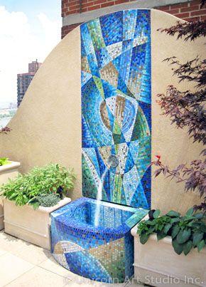 Custom Architectural Mosaic Work