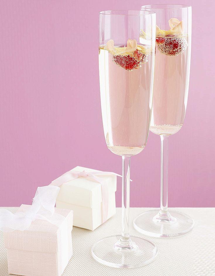 Les 25 meilleures id es concernant martini rose sur for Cocktail au champagne