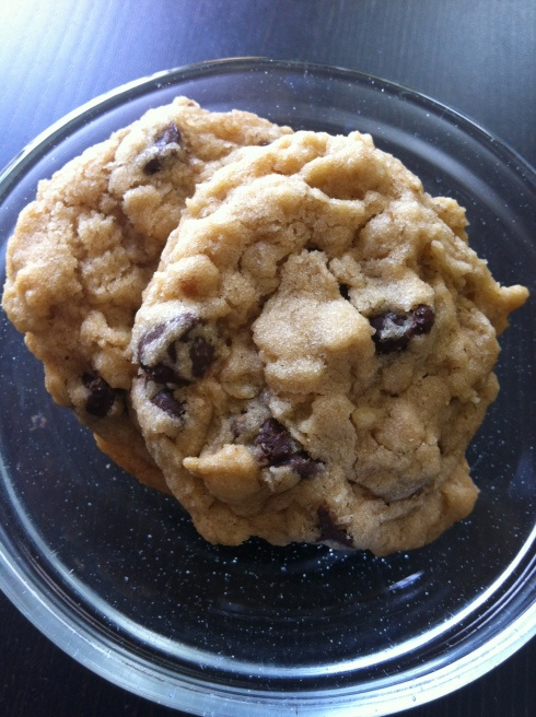 Chewy Oatmeal Chocolate Chip Cookies | Bitchin Kitchen | Pinterest