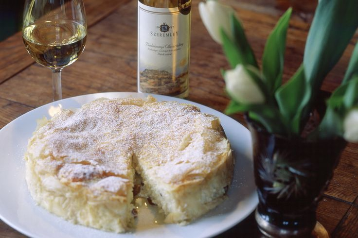Varga béles is a great Hungarian dessert - goes well with sweet dessert wines, such as Tokaji. #Hungary #travel #GoToHungary #VisitHungary
