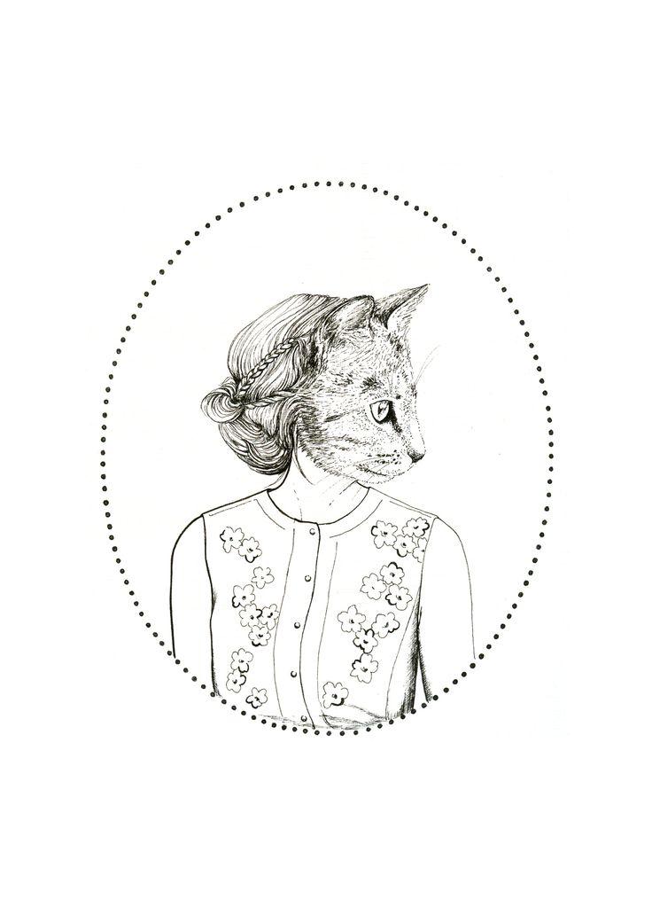 Laura Agustí y su pasión por los animales http://verdejade-verdejade.blogspot.com.es/ También en la tienda online http://verdejade.bigcartel.com/