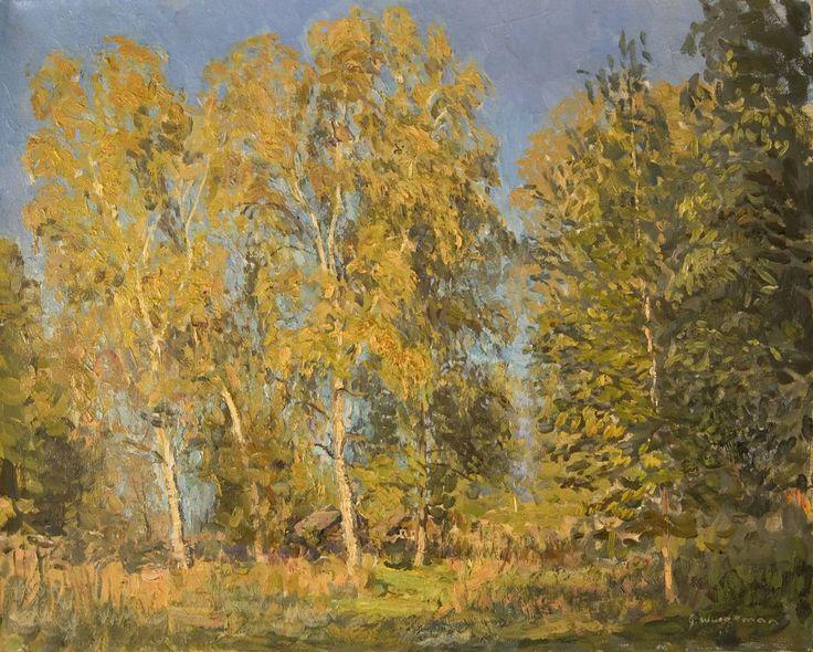 Sunlit Birches 2009 by John Wurdeman