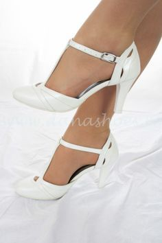 Pantofi de mireasa din piele NE 1112