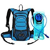 Miracol Hydration Backpack with 2L Water Bladder  Thermal Insulation Pack Keeps Liquid Cool up to 4 Hours  Multiple Storage Compartment- Best Outdoor Gear for Skiing Running Hiking Cycling