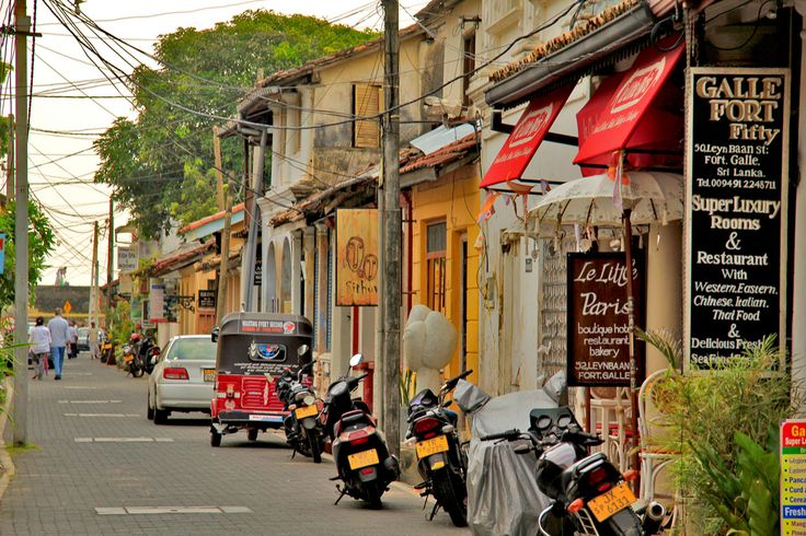 Street in Galle Fort
