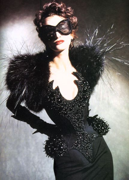 """Les Insectes"" Spring – Summer 1998 couture collection, Thierry Mugler"