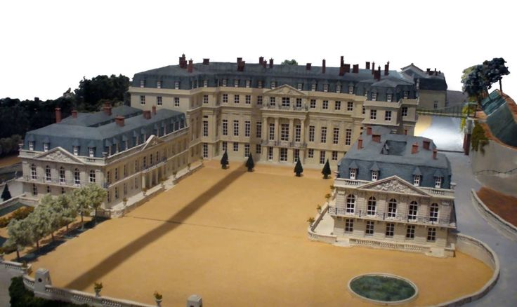 maquette du chateau de saint-cloud (model)