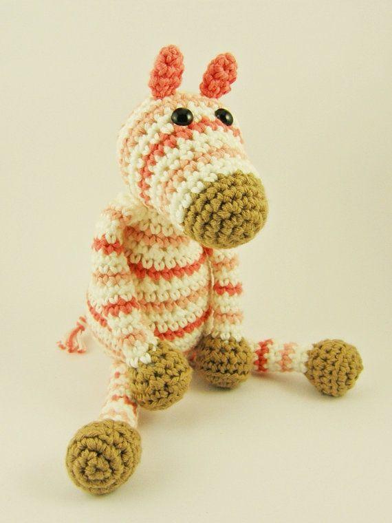 Amigurumi Zebra Patroon : 17 mejores imagenes sobre Crochet- Zebras ! en Pinterest ...