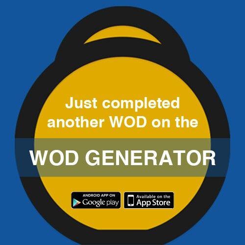 Who needs a gym.  Get WOD generator