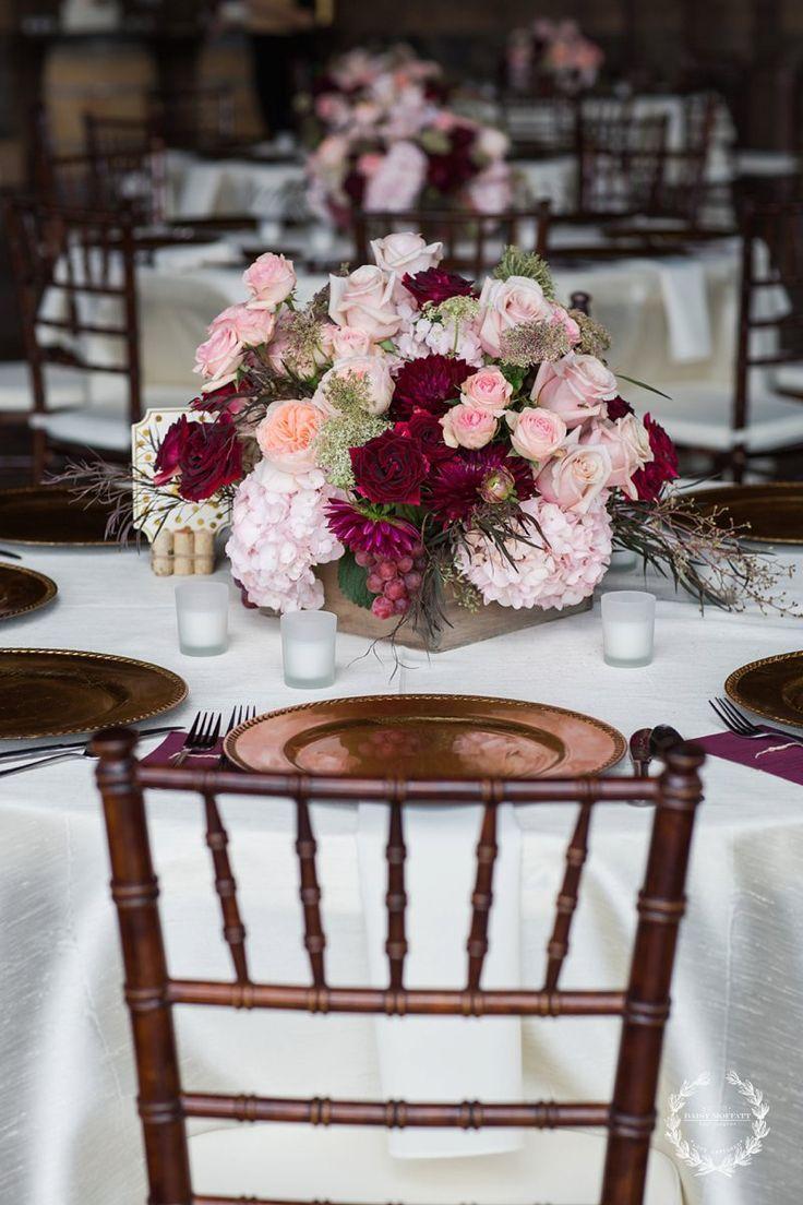23 best reception images on pinterest wedding ideas weddings and marsala navy burlap centerpiece google search junglespirit Gallery