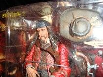 PIRATES-CAPTAIN TEAGUE-SPARROW'S FATHER-KEITH RICHARDS-NECA-XLT DETAILS-NEW-COOL
