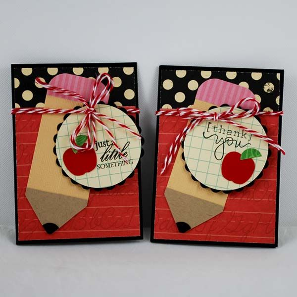 Teacher gift by croppixie cards and paper crafts at for Thank you crafts for teachers