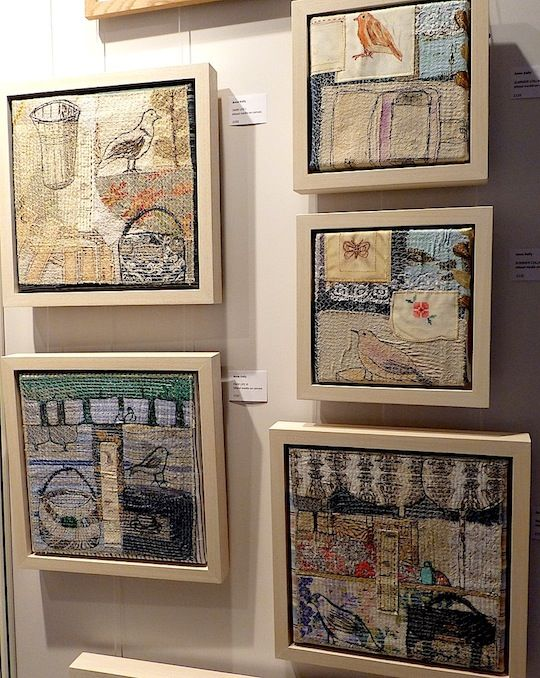 How to frame textile art and display it effective is an art within its self