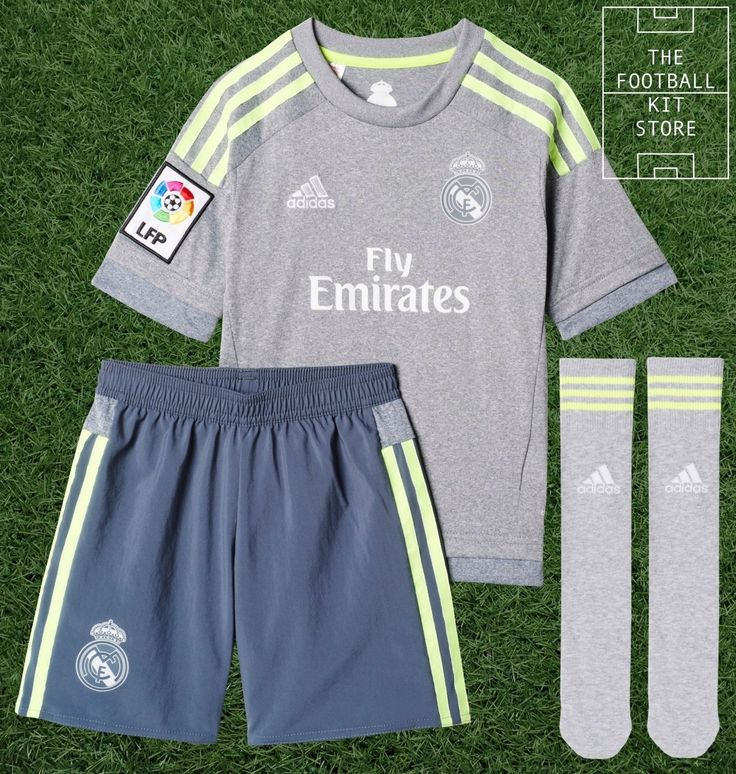 Real madrid away kit - #official #adidas boys football kit - #shirt, shorts, sock,  View more on the LINK: 	http://www.zeppy.io/product/gb/2/272456651458/