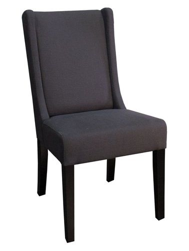 Urban Elements, Wing Side Dining Chair - Gray