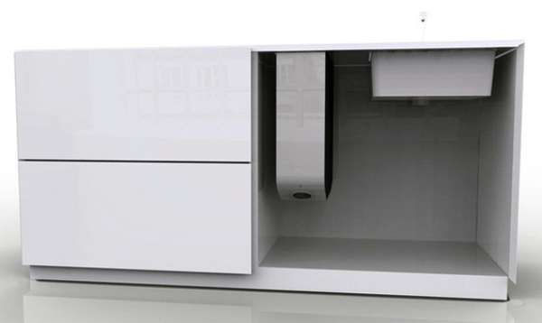 Table-Top Dishwashers - The Instant Dishwasher from Robert Lange Saves Space (GALLERY)