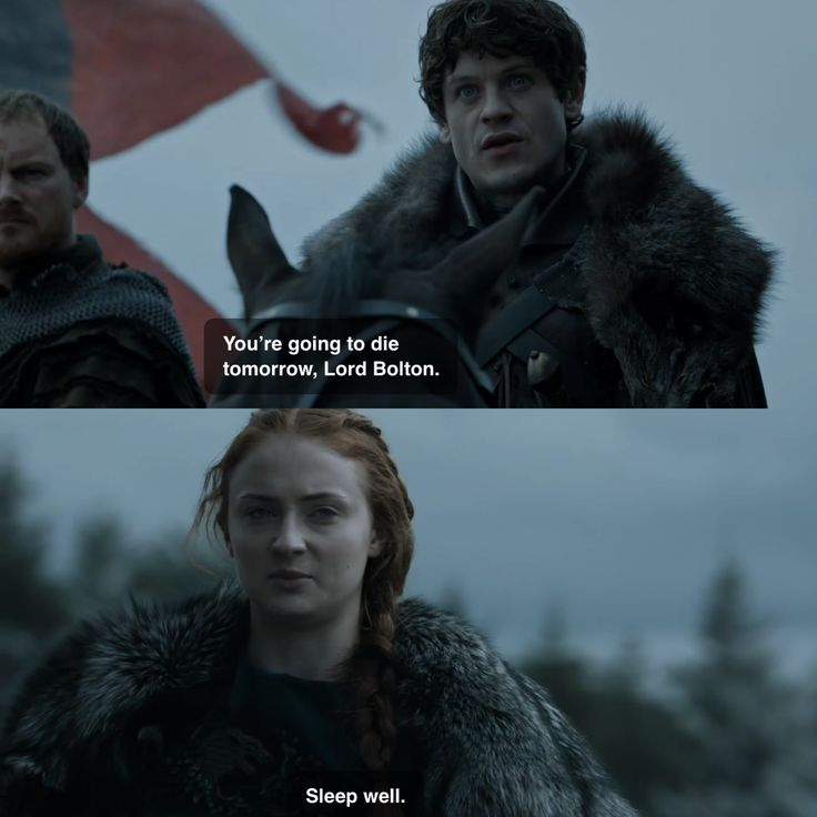 Sansa and Ramsay Game of Thrones 6x08