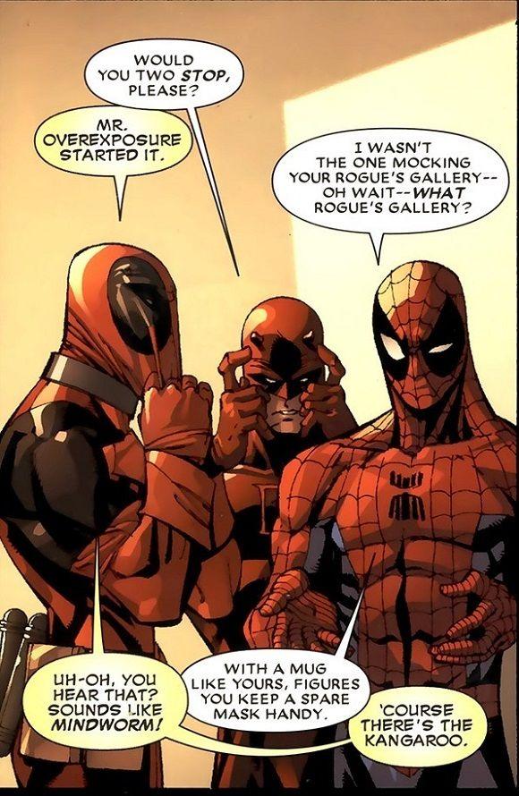 deadpool and spiderman comic - photo #32