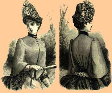 1885 Pelerine Mantel
