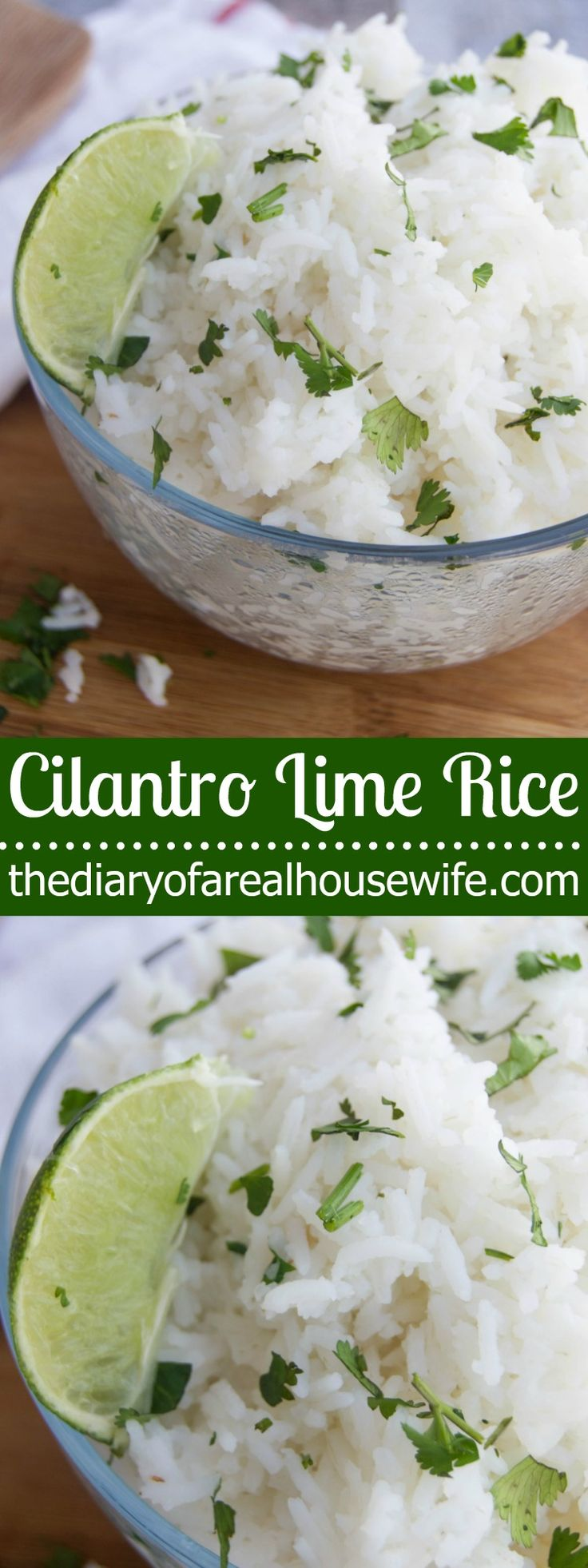 Cilantro Lime Rice. The best recipe! I make this for every taco night.