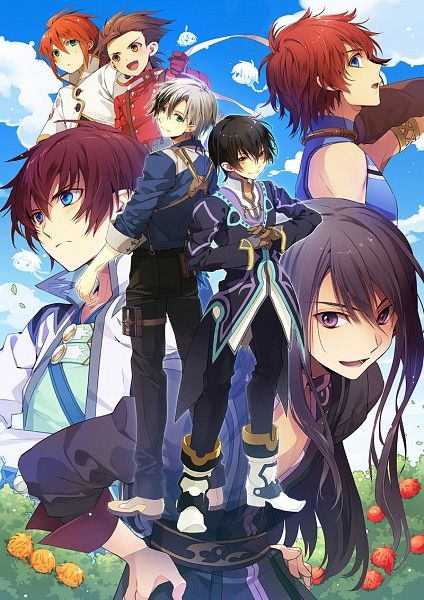 Tags: Anime, Fanart, Tales of the Abyss, Tales of Symphonia, Tales of Vesperia