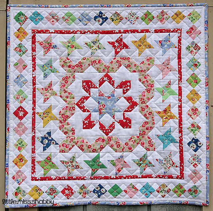 Mini Medallion Quilt