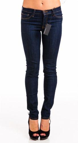 Flying Monkey Jeans L7387 High Waist Skinny Jeans - Dark Wash - Anonymous LA