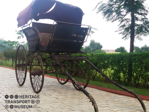 Greet another new member of the museum family- A horse carriage 'Phaeton' from Agra of the early 20th century!  Get ready to witness its restored form in the museum soon! #horse #drawn #carriafe #phaeton #Agra #20thcentury #vintage #transportation