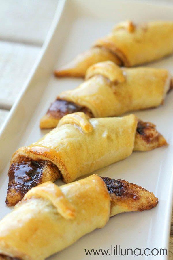 Cream Cheese and Cinnamon Crescent Rolls - YUM!