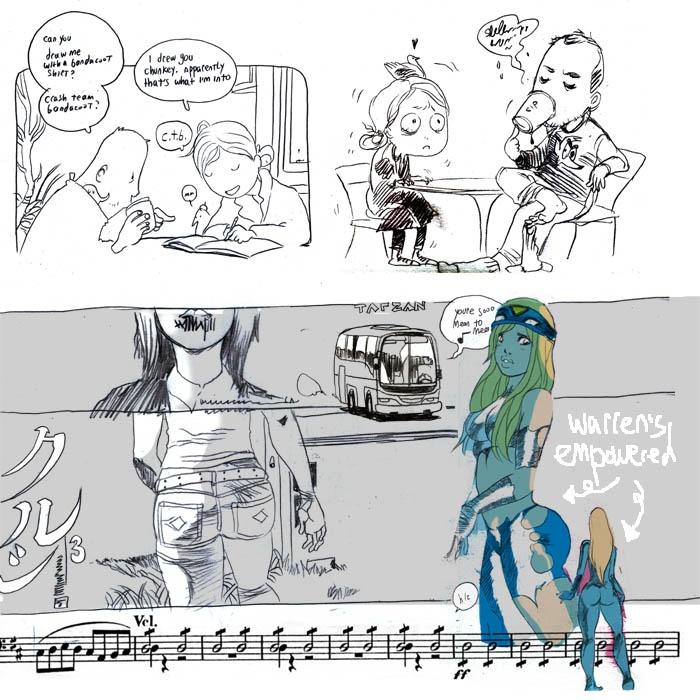 Sketch book jam