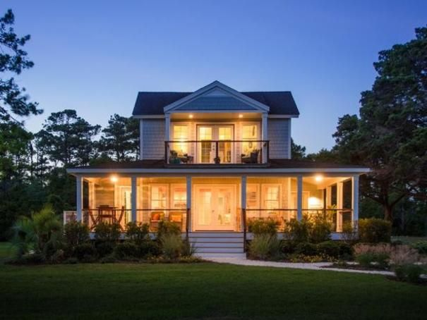 Photo of Yellow Contemporary Exterior project in Atlantic, NC by Reed Landscape Irrigation
