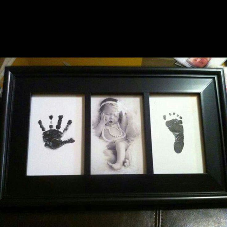 New Born hand & foot print