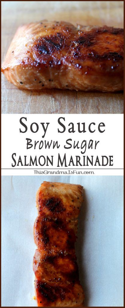Soy Sauce Brown Sugar Marinade Even Salmon haters will love salmon with this Soy Sauce Brown Sugar Marinade .This Soy Sauce and Brown Sugar Salmon Marinade is not only an easy weeknight meal, but elegant enough to impress guests. Carmelized, healthy, and delicious! Once marinaded, the salmon is baked. A beautiful caramelized crust forms leaving the Salmon tender, moist and full of flavor. This is the easiest way to prepare and cook salmon. It is simple and it's presentation is elegant. Give…