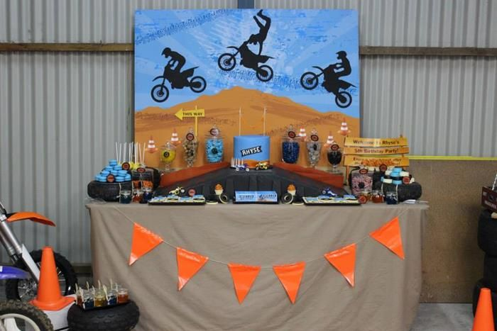 Dirt Bike Birthday Party Planning Ideas Supplies Idea Cake Motorcross