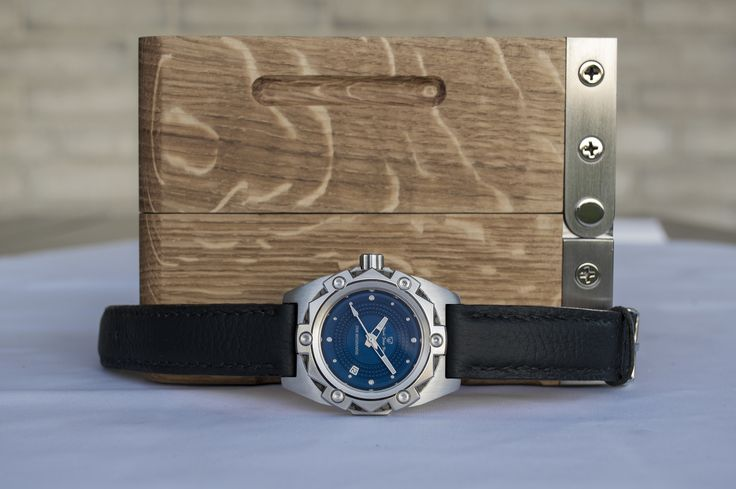 Watch and box from Black Polar Bear