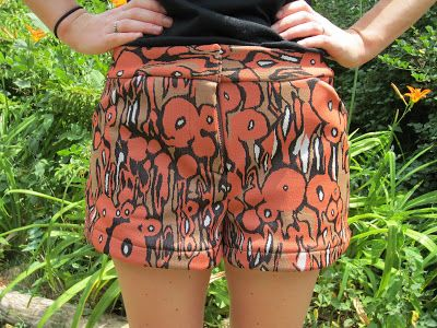 Molly's Sewing and Garage Sale Adventures: Thurlow shorts: the new Sewaholic pattern
