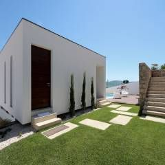 Casas minimalistas por 3H _ Hugo Igrejas Arquitectos, Lda