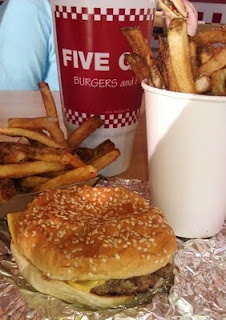 Five Guys Burgers and Fries -- Carson, CA
