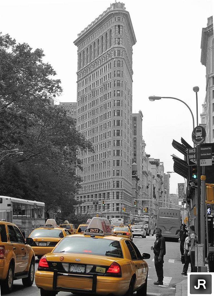 NY, the iron building
