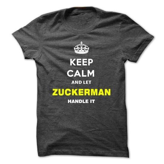 Keep Calm And Let Zuckerman Handle It-kzioc - #tumblr hoodie #sweater style. GUARANTEE  => https://www.sunfrog.com/Names/Keep-Calm-And-Let-Zuckerman-Handle-It-kzioc.html?id=60505