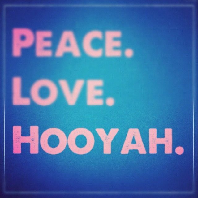 Navy, Hooyah!
