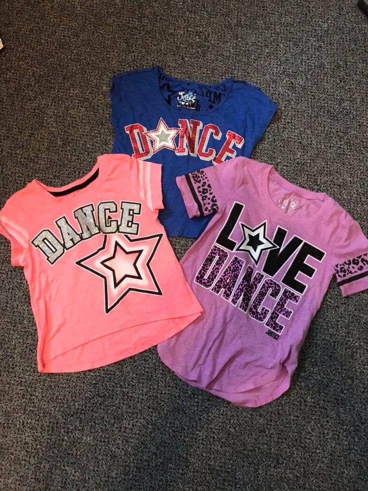 Girls justice dance shirts 67 euc dance shirts justice