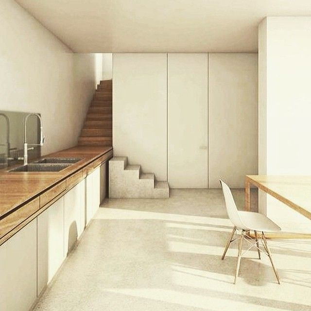 """""""A Clever Little Benchtop Staircase. I'm Imagining A Kids"""