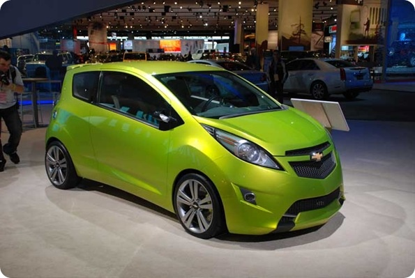 A car is an extension of your personality. Much like an accessory, only far more useful. This is the 2013 Chevy Spark, and we love them! They're so fun & funky! - Chevrolet Spark at auto show