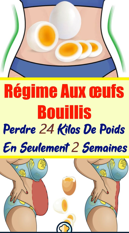 Régime Aux œufs Bouillis: Perdre 24 Kilos de Poids en Seulement 2 Semaines