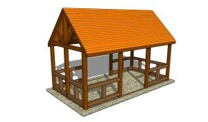 Just what I was looking for, free plans for a rectangle pavillion.