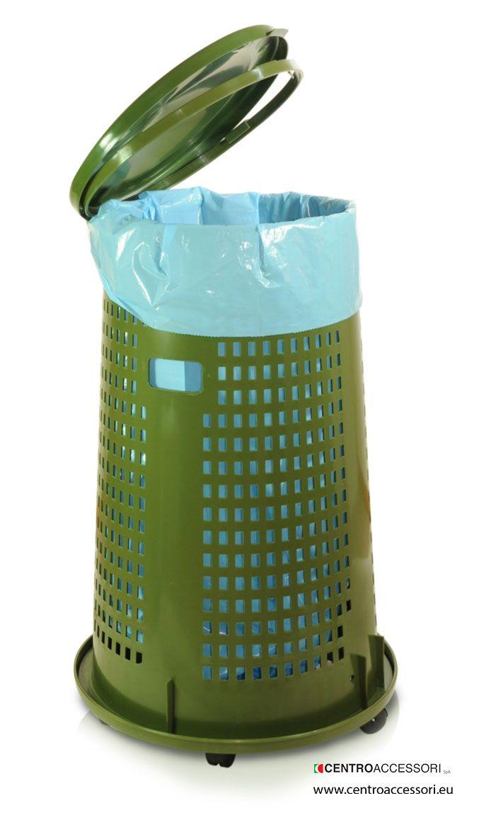 Bidone immondizia trespolo. Garbage bin trespolo. #CentroAccessori
