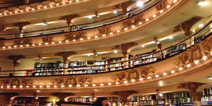 El Ateneo Grand Splendid, antigo teatro convertido em uma das livrarias mais bonitas de Buenos Aires