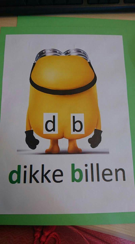 Letters d b